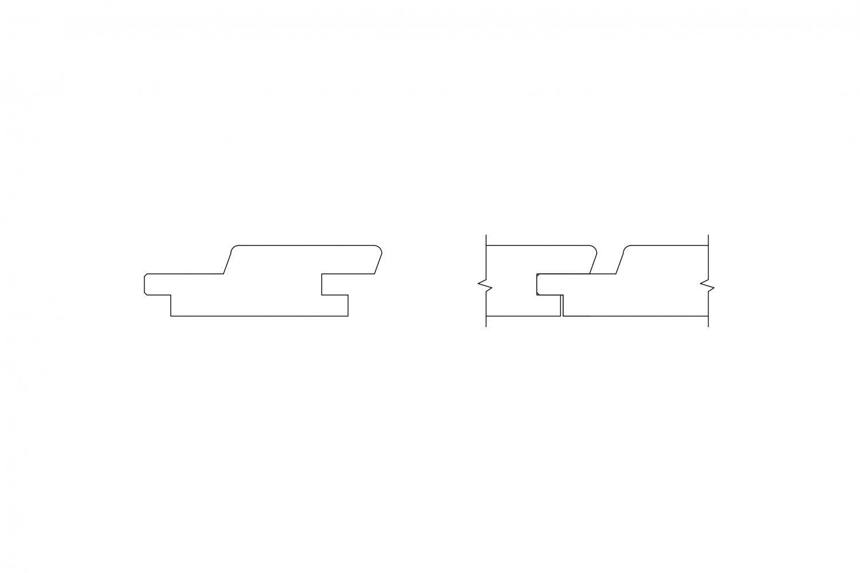 Fasádne dosky - Rhombus perodrážka
